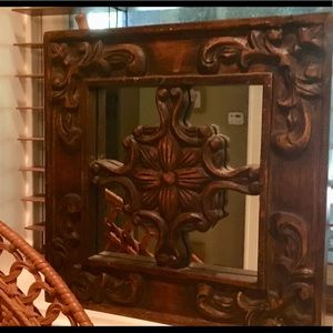Accents - Wood Wall Mirror